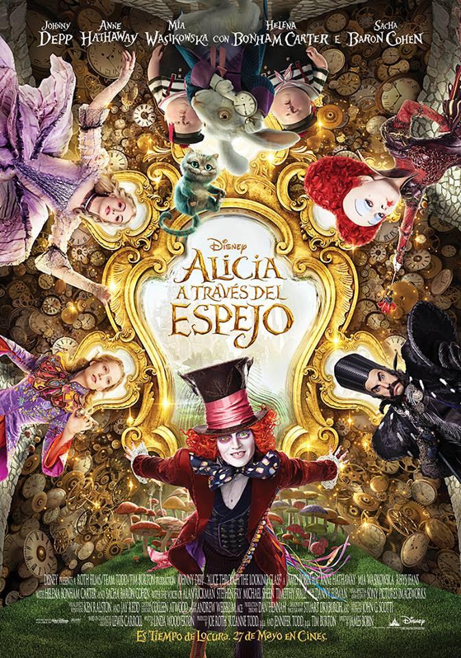 póster de la película Alicia a través del espejo
