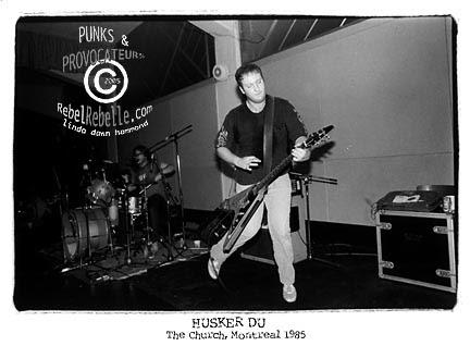 HUSKER DU  1985