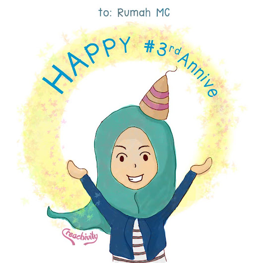 Happy Annive @RumahMC - Colorful Daily Journal