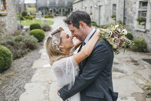 Ballymagarvey Village wedding photography // Emma and Fergal