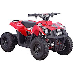 MotoTec Monster 36V 500W ATV - Red