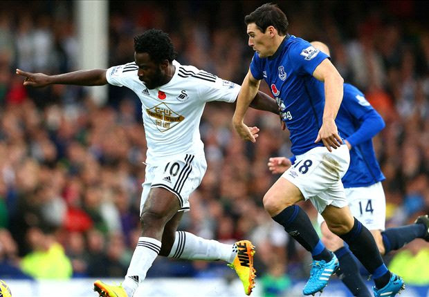 Swansea City open to bids for Liverpool and Tottenham target Bony