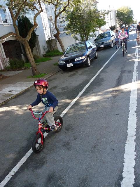 Declan & Sheila Learn About Bike Lanes