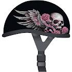 Skid Lid 646784 Wild One 2X-Large Half Shell Helmet