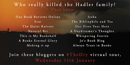 The Dry blog tour