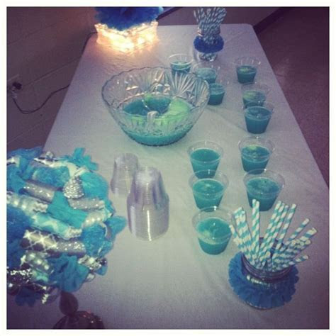 17 Best images about Something Blue Bridal Shower on