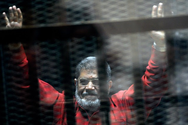 Mohamed Morsi, photographié en juin 2015.... (Ahmed Omar, archives AP)