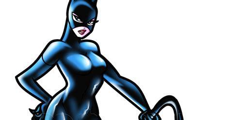 gambar cat woman vector terbaru hd  kartun