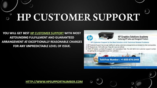 Get HP Customer Support Here +1-855-676-2448 (Computers - Software)