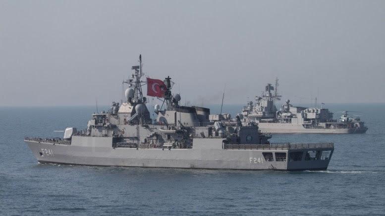 File Photo: Τουρκικά πολεμικά θα βρεθούν και πάλι εντός της κυπριακής ΑΟΖ τη Μεγάλη Τρίτη συνεχίζοντας τις προκλήσεις Πηγή: Turkish Navy
