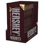 Hershey's Giant Milk Chocolate with Almonds 6.8 oz. bar