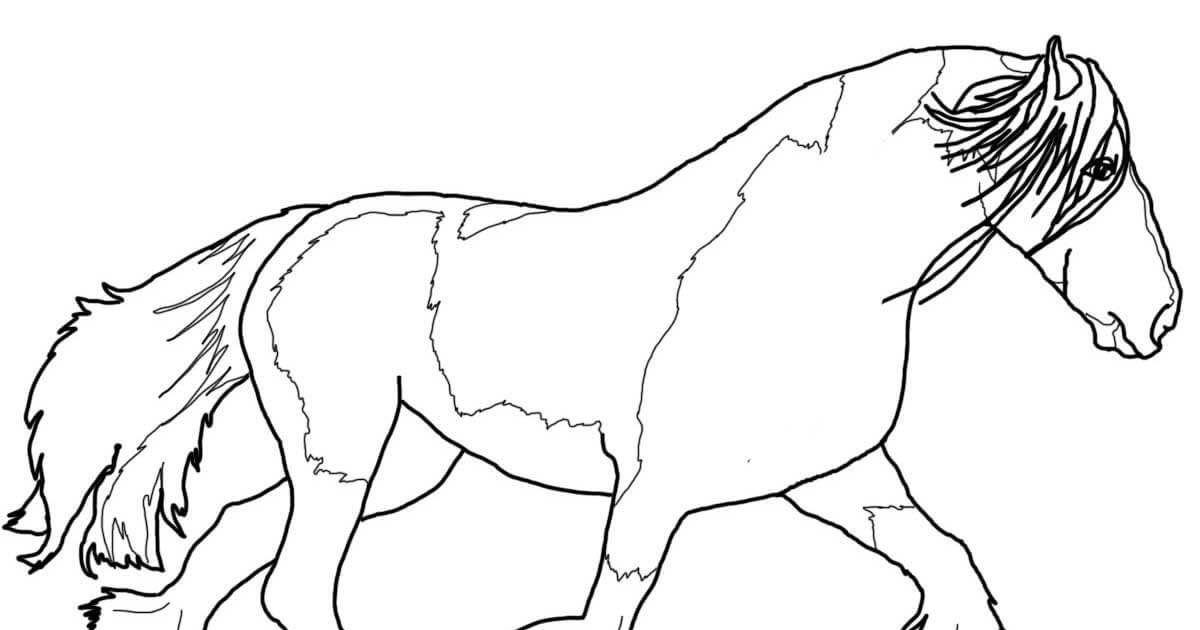 16 awesome malvorlagen pferde friesen