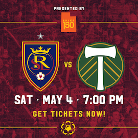 Real Salt Lake vs. Portland Timbers