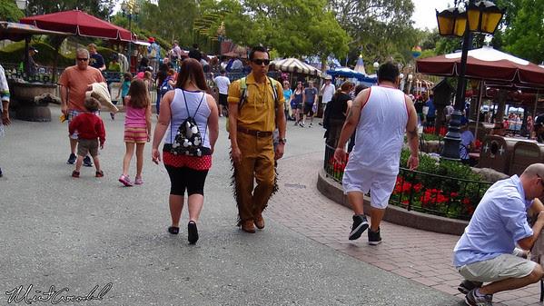 Disneyland Resort, Disneyland, Fantasyland, Canoe, Cast Member