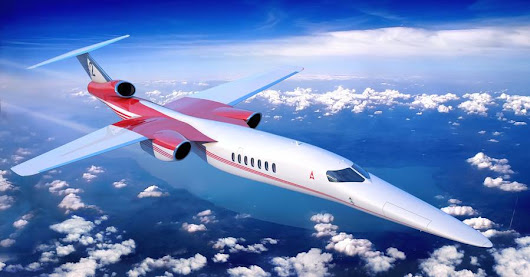 Lockheed Plans New Supersonic Business Jet - WSJ