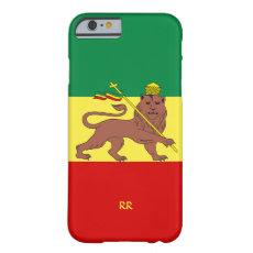 Rastafari Reggae Music Flag iPhone 6 case