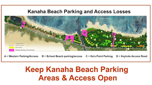 Maui County Mayor Alan Arakawa: Keep Kanaha Beach's Parking Areas & Access Open