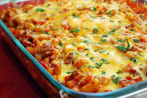 Chili & Cheese Macaroni