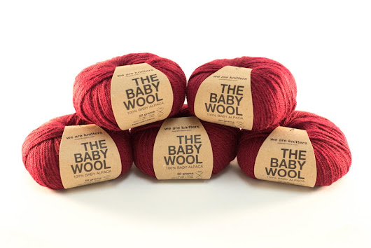 Red Wine Baby Wool Yarn Giveaway