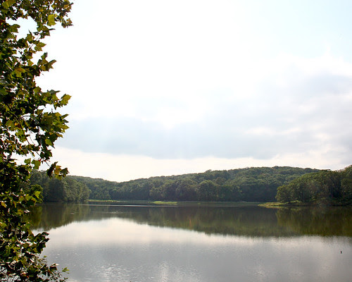 Crowder State Park...looking for the best place for wedding photos I snapped this photo of the lake.