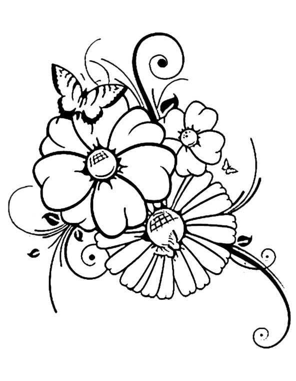 Schmetterling 11 | Ausmalbilder Kostenlos