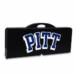 Picnic Table - Black (U Of Pittsburgh Panthers) Digital Prin