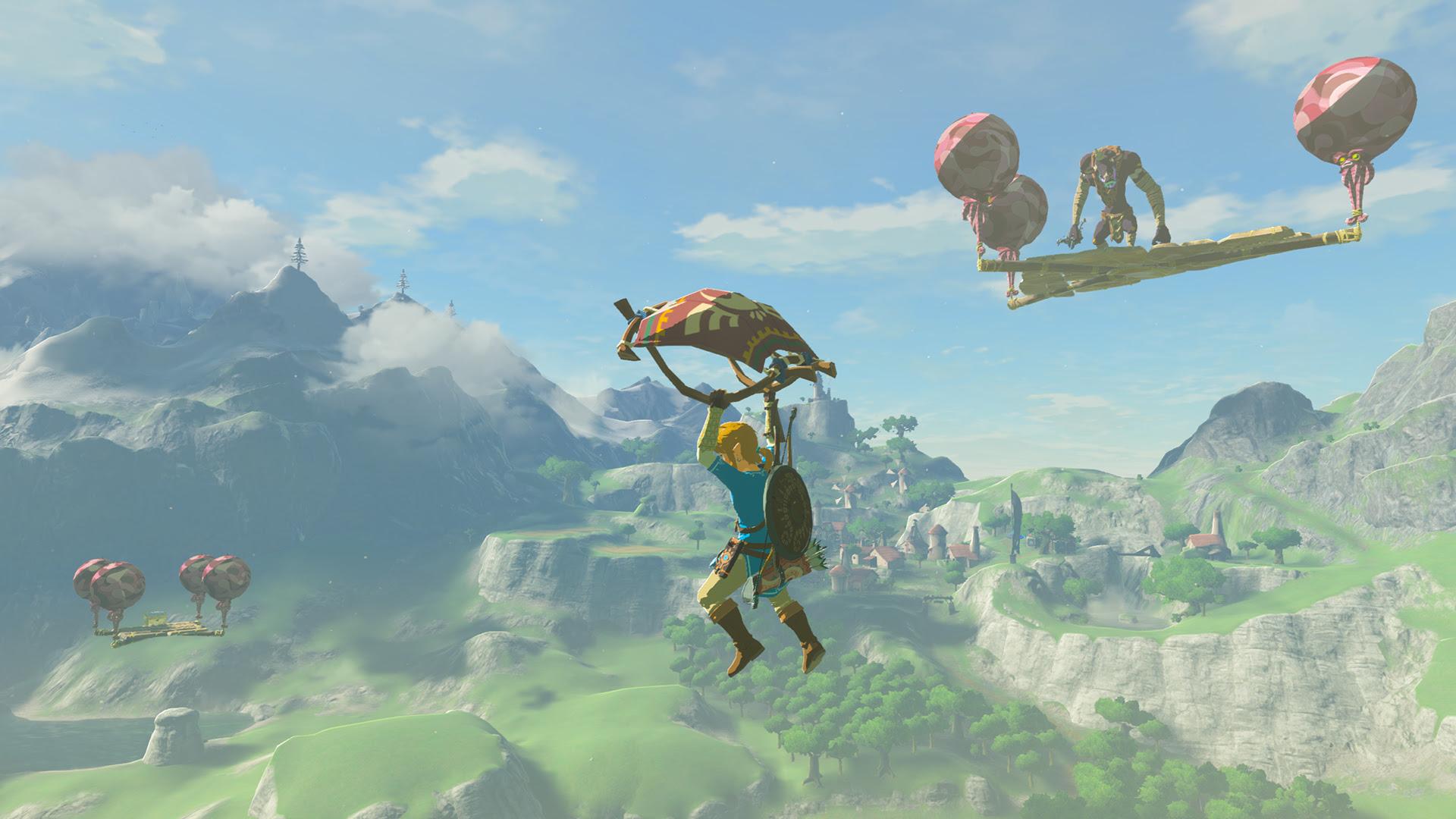 Nintendo Download: Zelda: Breath of the Wild: The Master Trials screenshot