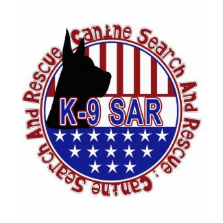 PATRIOTIC K-9 SAR -CANINE SEARCH & RESCUE shirt
