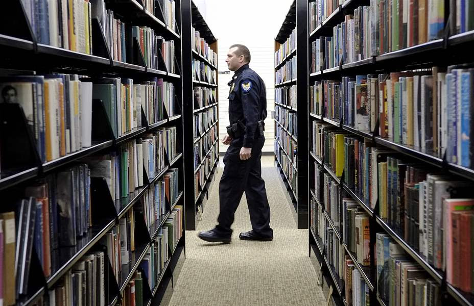 Image result for library security officer