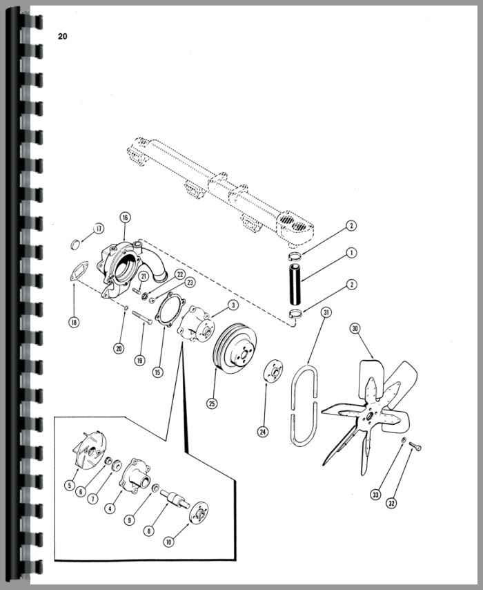 Case 1070 Tractor Parts Manual Assembly Catalog Exploded Views Heavy Equipment Parts Attachments Passionedu Vn