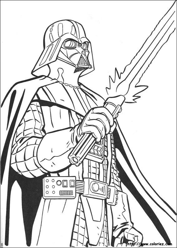 Coloriage A Imprimer Star Wars