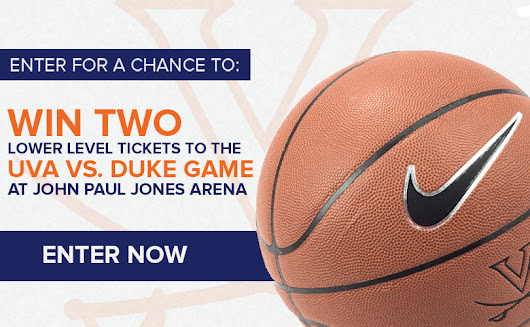 UVA vs. Duke Ticket Sweepstakes