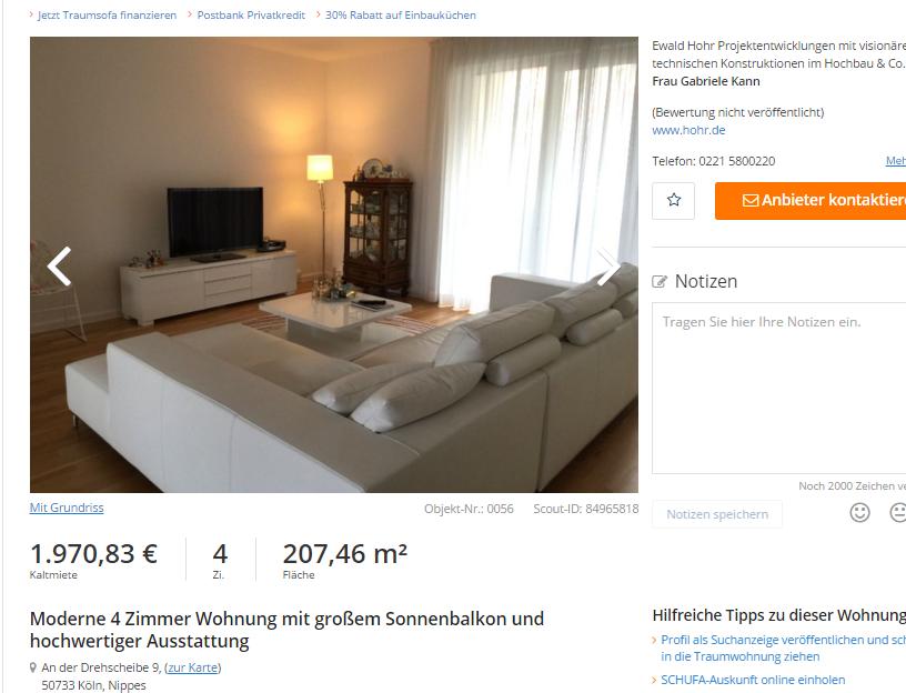 Permalink to Wohnung Koln Lindenthal