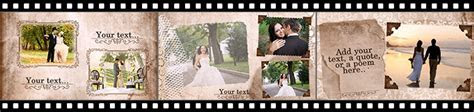 Vintage Wedding Album Slideshow   SmartSHOW 3D