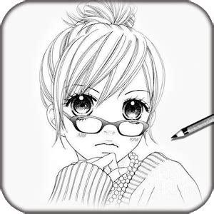 disegnare  manga donna moderna