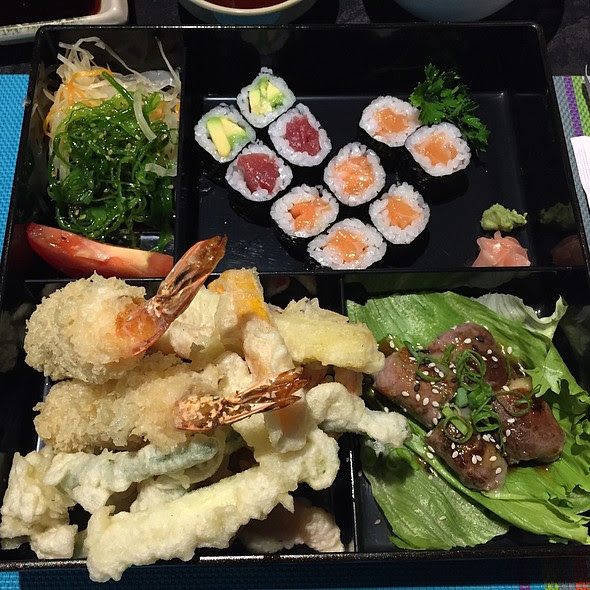 Tempura Bento Lunch @ Yawu