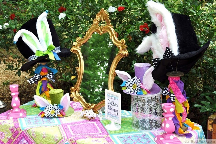 10 Best Mad Hatters Tea Party Ideas Magical Alice In Wonderland