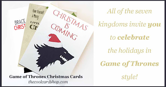 Celebrate the Holidays with these Game of Thrones Christmas Cards