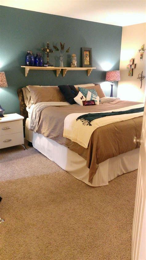 diy pillows shelf headboard bedroom sanctuary