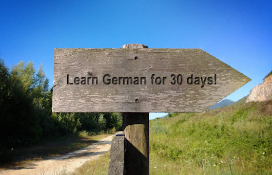 Angelika's challenge: learn German for 30 days and win prizes - Angelika's German Tuition & Translation