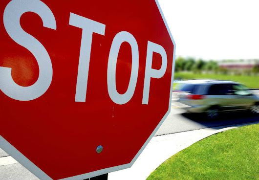 Not Recognizing a 2-Way Stop Sign Intersection| St. Louis Car Accident Lawyer