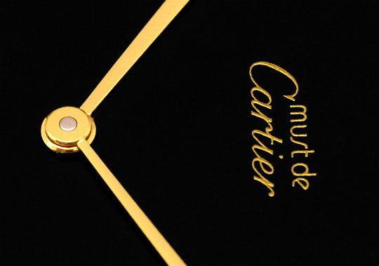 Original-Foto 3, HERREN VLC VENDOME LOUIS CARTIER SILBER GOLD KROKO FALT