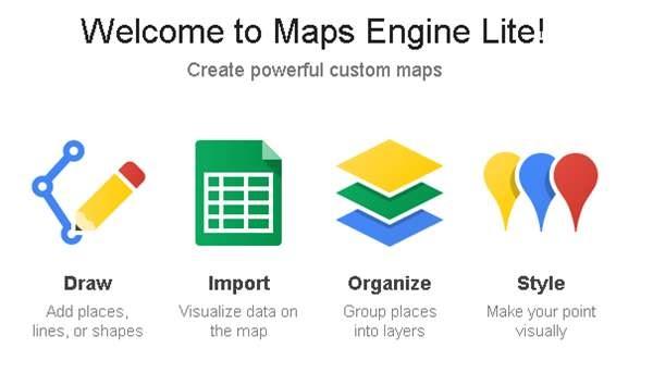 Google lanza Google Maps Engine Lite, para que cualquiera pueda crear mapas