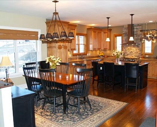 White cabinets; oak trim   For the Home   Pinterest   Oak ...