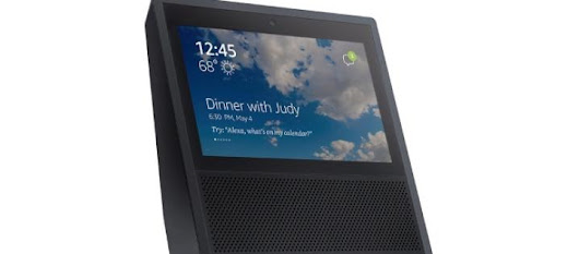 New photos of Amazon's touchscreen-equipped Echo smart speaker leaked