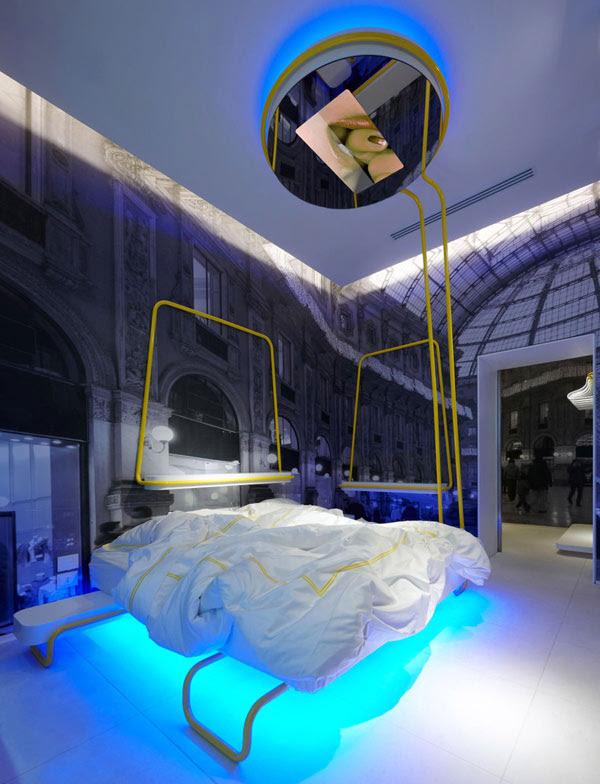 Hotel Bedroom  LED  Lighting  Ideas