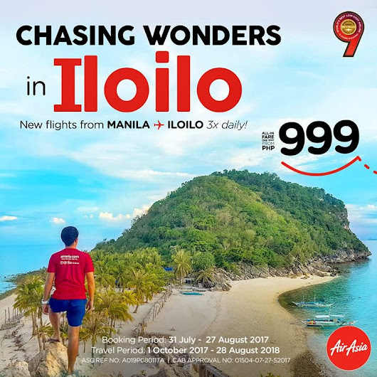 MORE REASONS TO VISIT ILOILO | MANILA-ILOILO THREE FLIGHTS DAILY |AIR ASIA | The Happy Trip