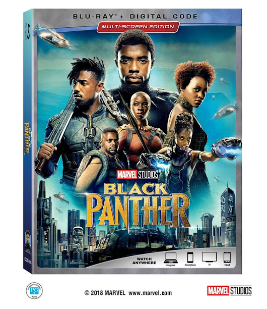 The Must-Own Cultural Phenomenon Marvel Studios' BLACK PANTHER Arrives to Homes Digitally on May 8, Blu-Ray on May 15 | #BlackPanther