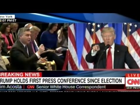 """No decorum! """"No, I will not give you a question, you are fake' Trump fires at CNN reporter, CNN replies"""