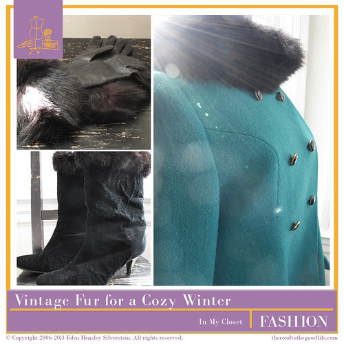 Vintage Fur for a SF Winter